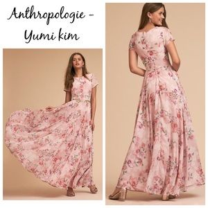 BNWT ANTHROPOLOGIE YUMI KIM Cherish Dress Size S